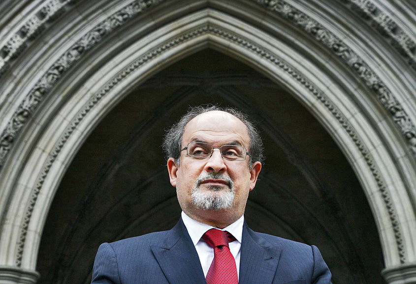 The Golden House is Salman Rushdie's 13th novel. Photo: Reuters