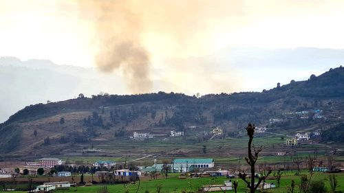 Pakistan violated the ceasefire by firing shelling with mortars along LoC