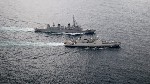 Indian Navy and Japan Navy conducted the 5th edition of bilateral maritime exercise JIMEX